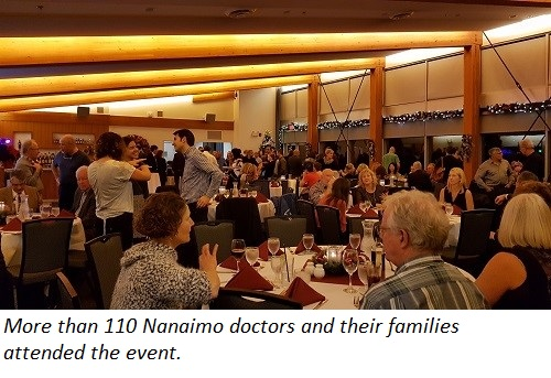 More than 110 doctors attended